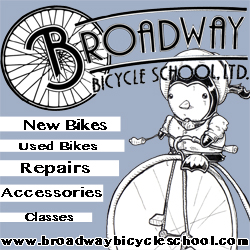 Broadway Bicycle School ad 250 x 250 #6